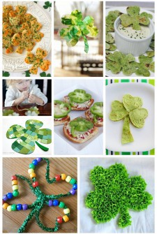 Shamrock Crafts, Activities and Treats (Clovers too!)