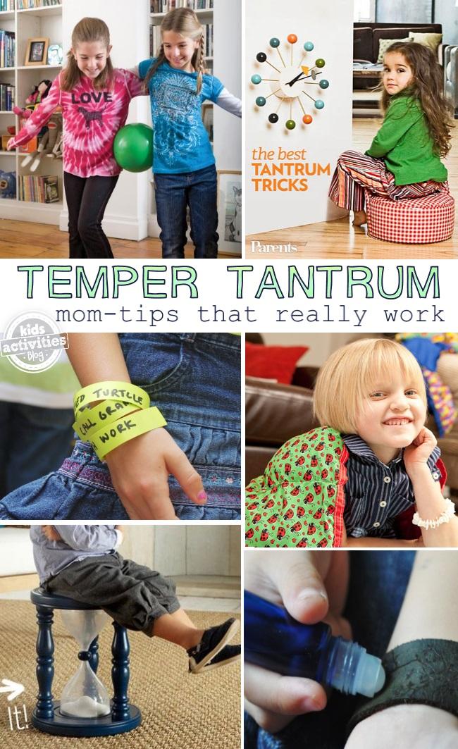 temper tantrum hack ideas
