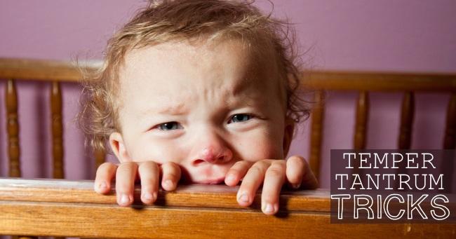 temper tantrum tricks