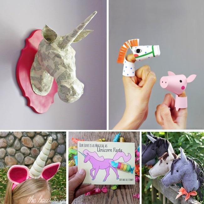 unicorns crafts for kids