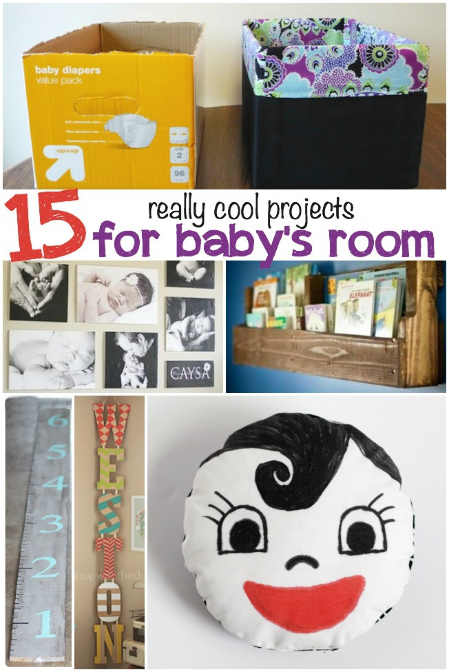 15 really cool projects for baby's room