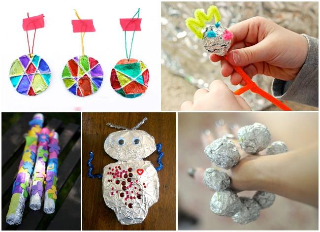 aluminium foil crafts
