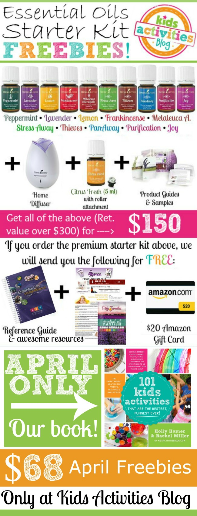 April Young Living Offer