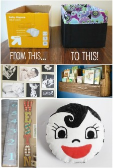 15 {Really Cool} Projects for Baby's Room