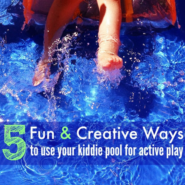 Creative Ways to Use Kiddie Pool