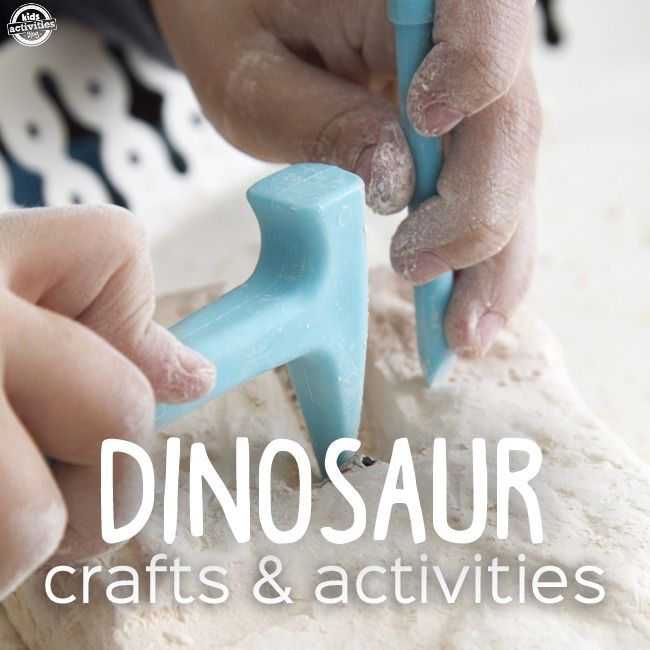 """50 Dinosaur Crafts & Activities"""