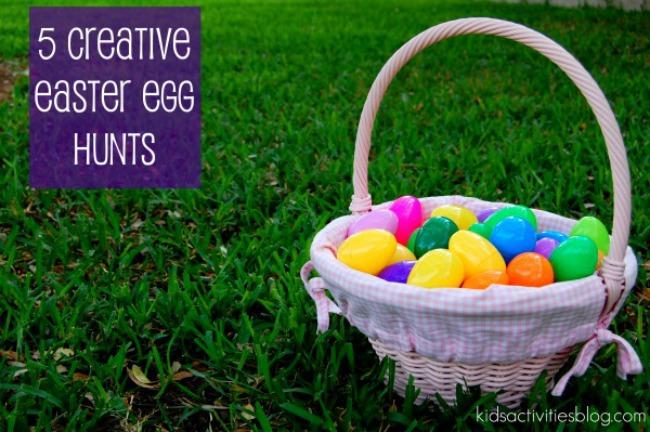 Easter Egg Hunts for the Family