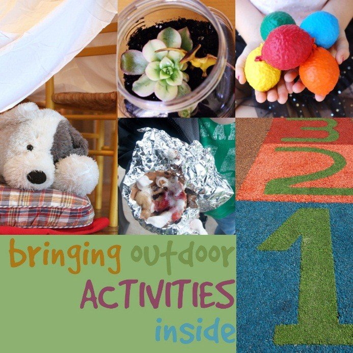 Family Activities that bring outside in