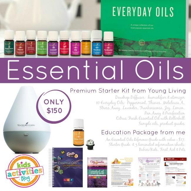 YL Essential Oil Starter Set with Education Package