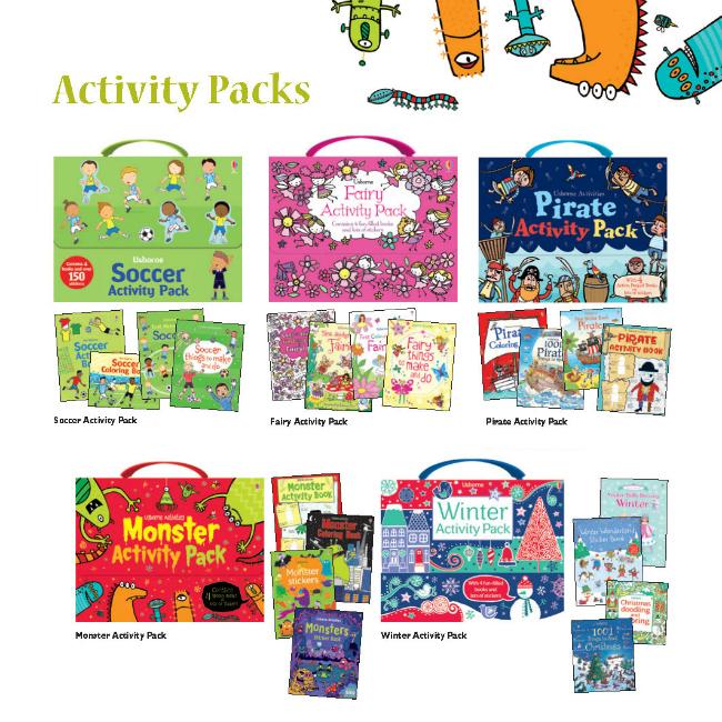 activity packs for active children