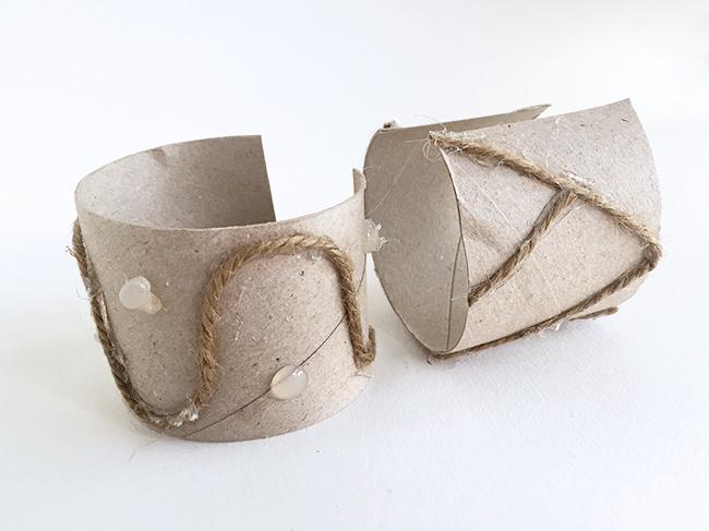 aluminum foil bracelets