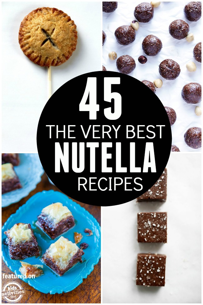 best nutella recipes