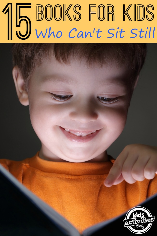 books for kids who cant sit still