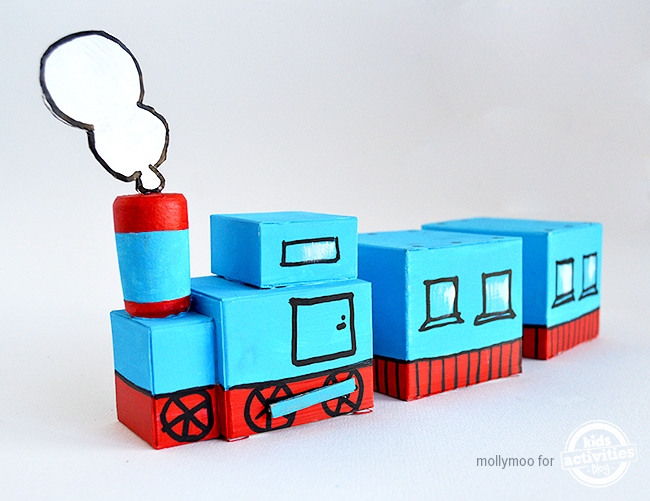 How To Make A Cardboard Box Toy Train | Apps Directories