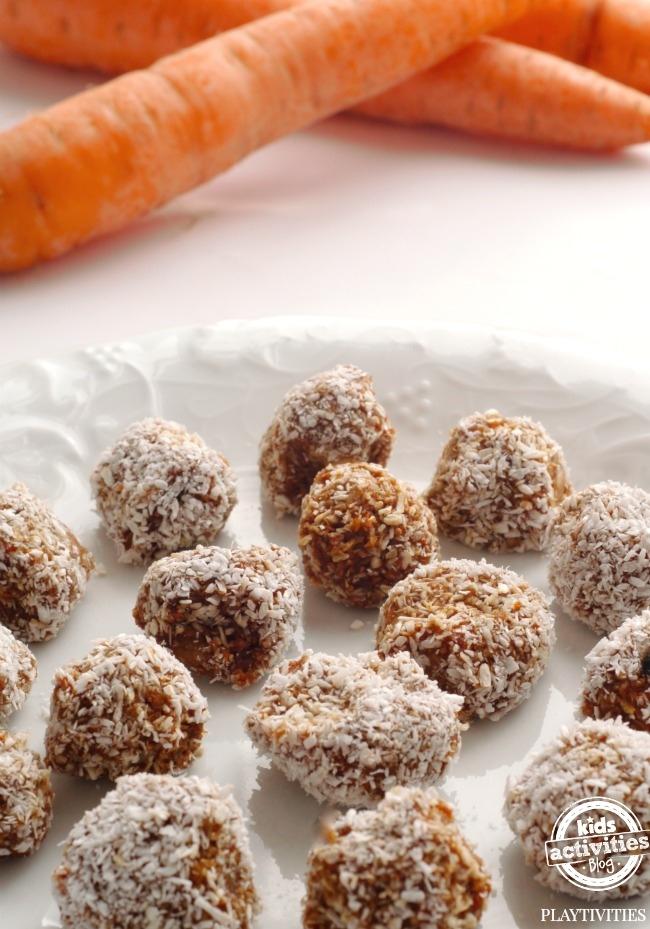 carrot balls snack