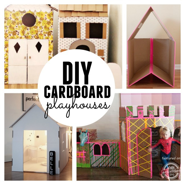 25 indoor playhouses for little dreamers for Diy indoor playhouse