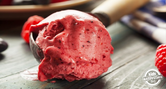 easy berry sorbet recipe