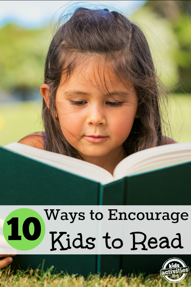 encourage kids to read