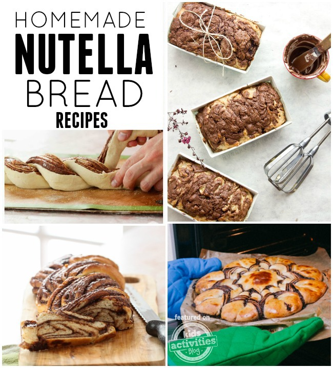 homemade nutella bread recipes
