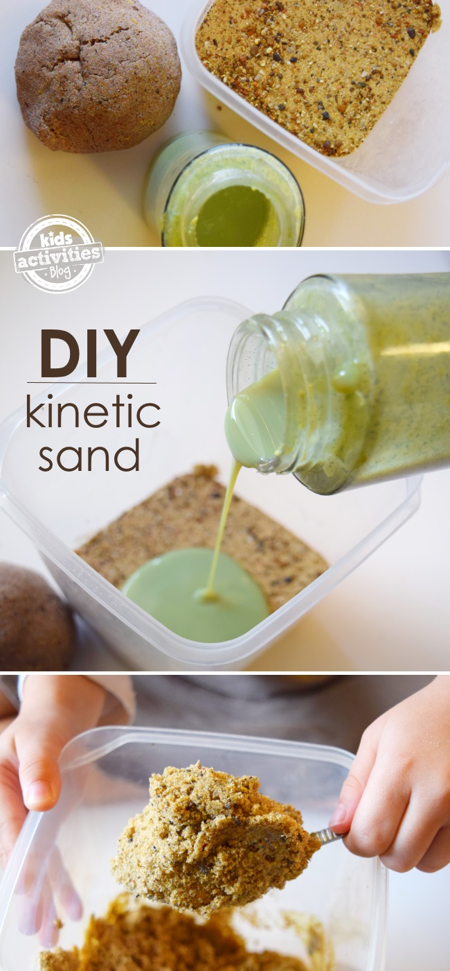 how to make kinetic sand. Black Bedroom Furniture Sets. Home Design Ideas