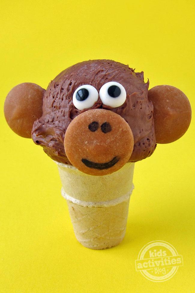 Ice Cream Cone Monkey