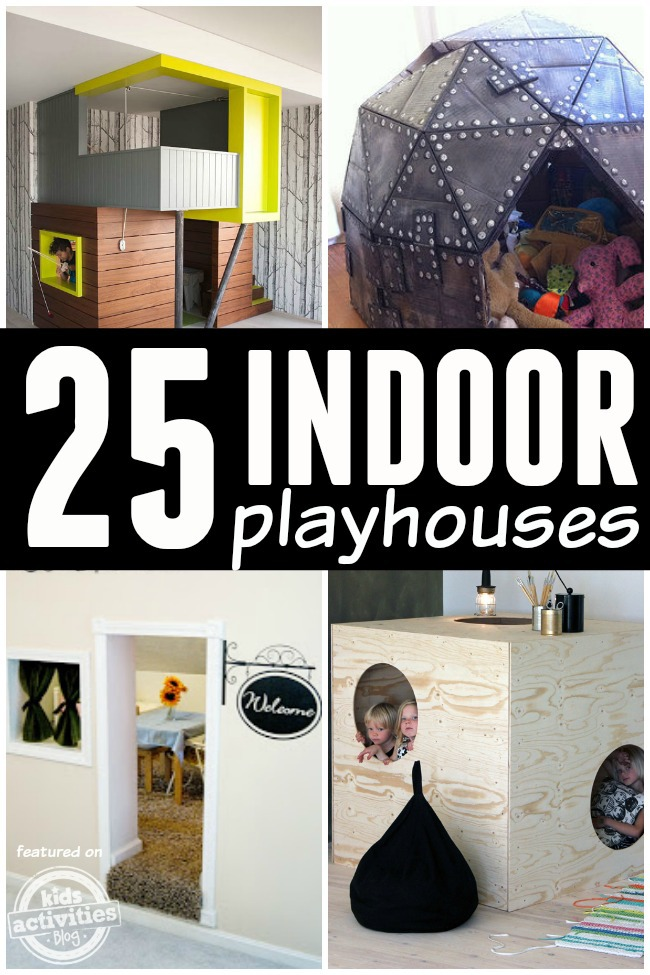 indoor playhouses for kids