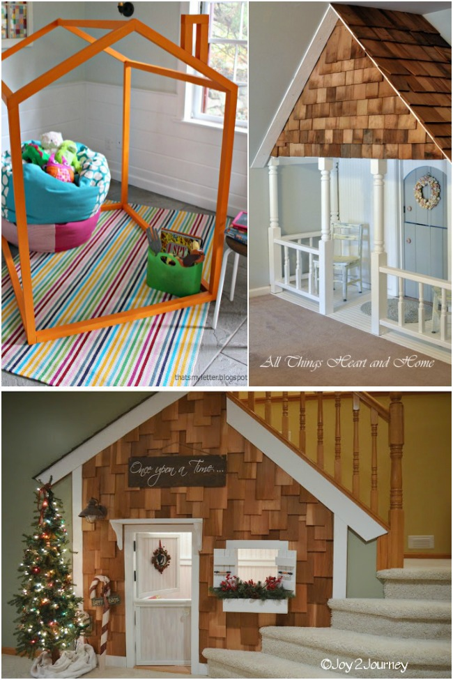 25 Indoor Playhouses For Little Dreamers