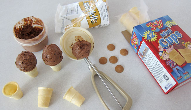 Monkey ice cream cone ingredients