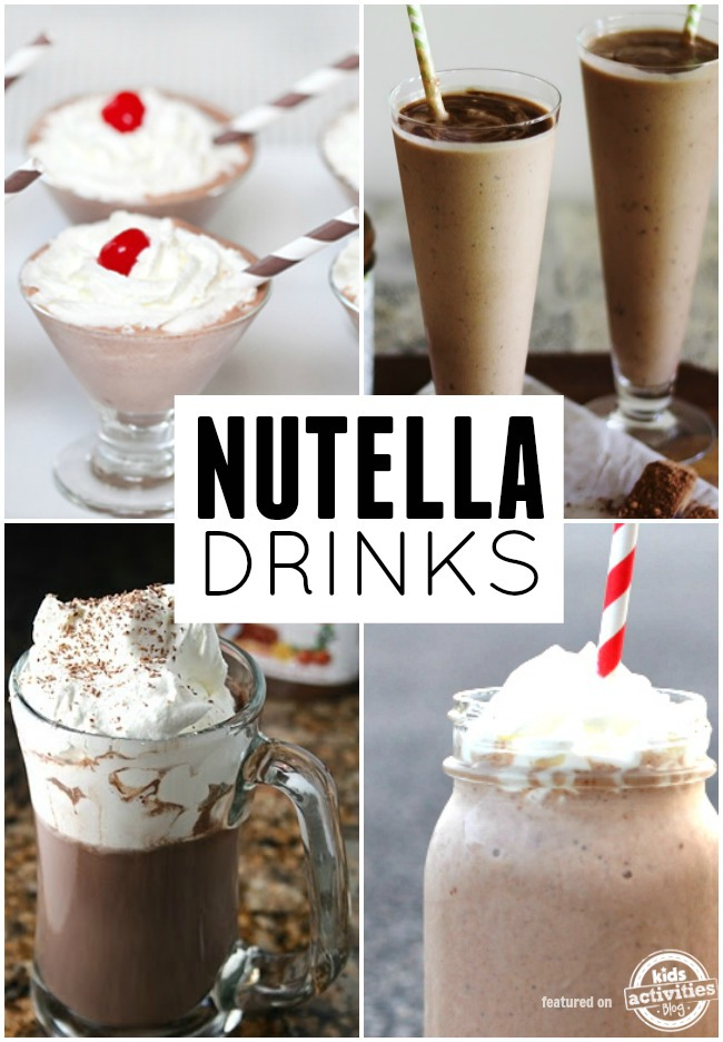 nutella drink recipes