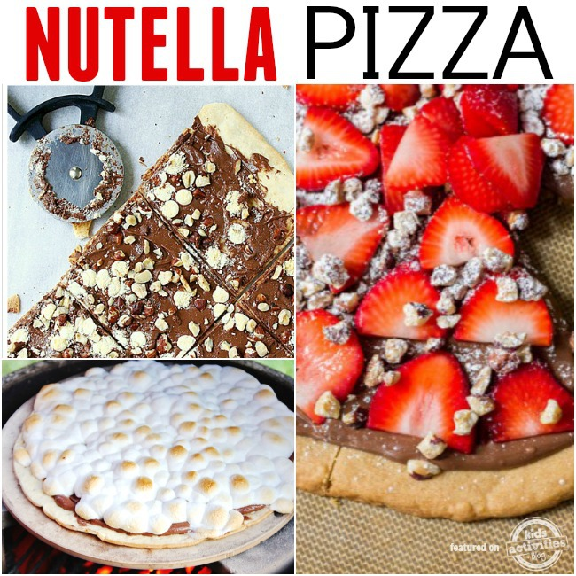 nutella pizza recipes