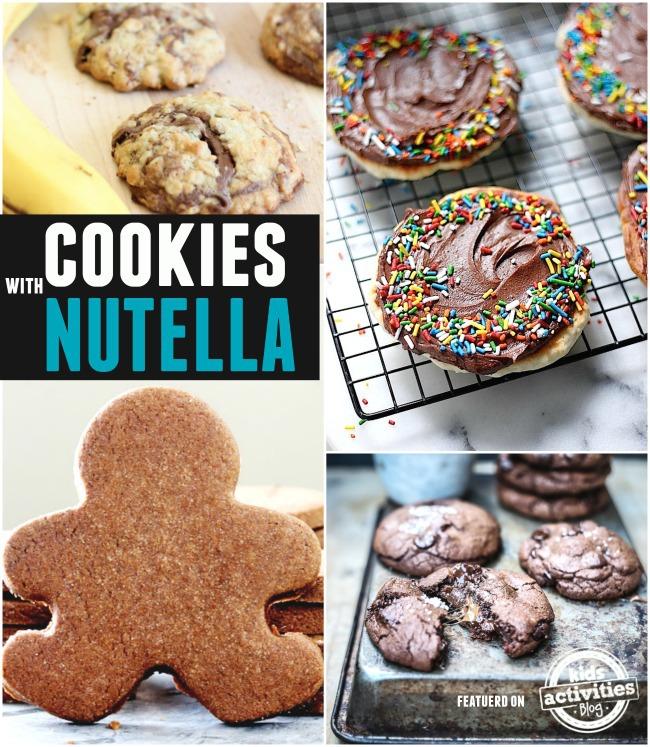 nutella recipes cookies