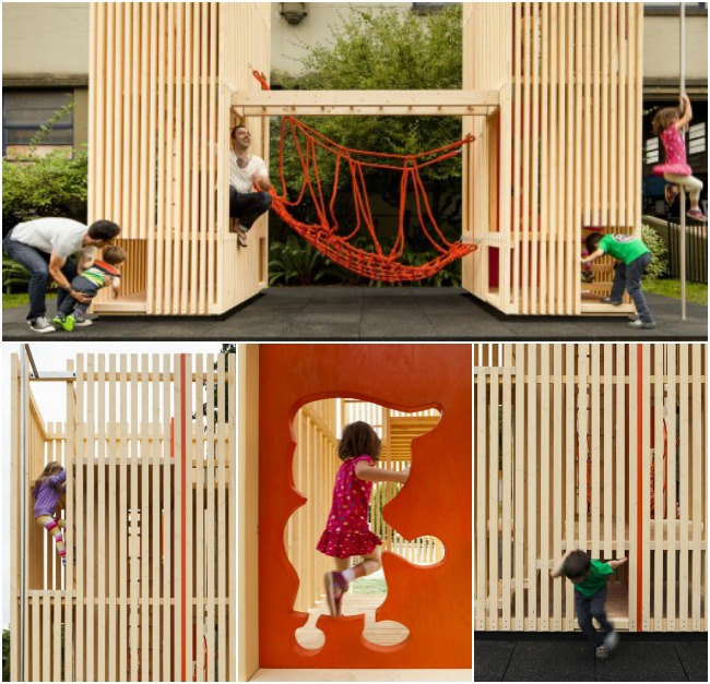 outdoor playhouse architect