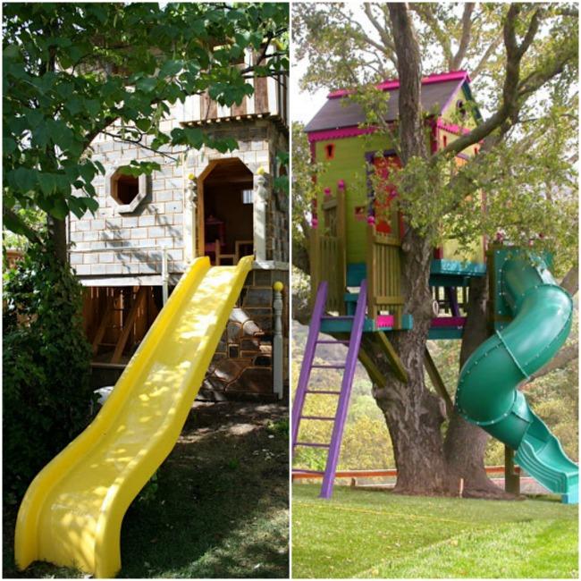 outdoor playhouses tree