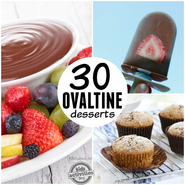 ovaltine desserts recipes