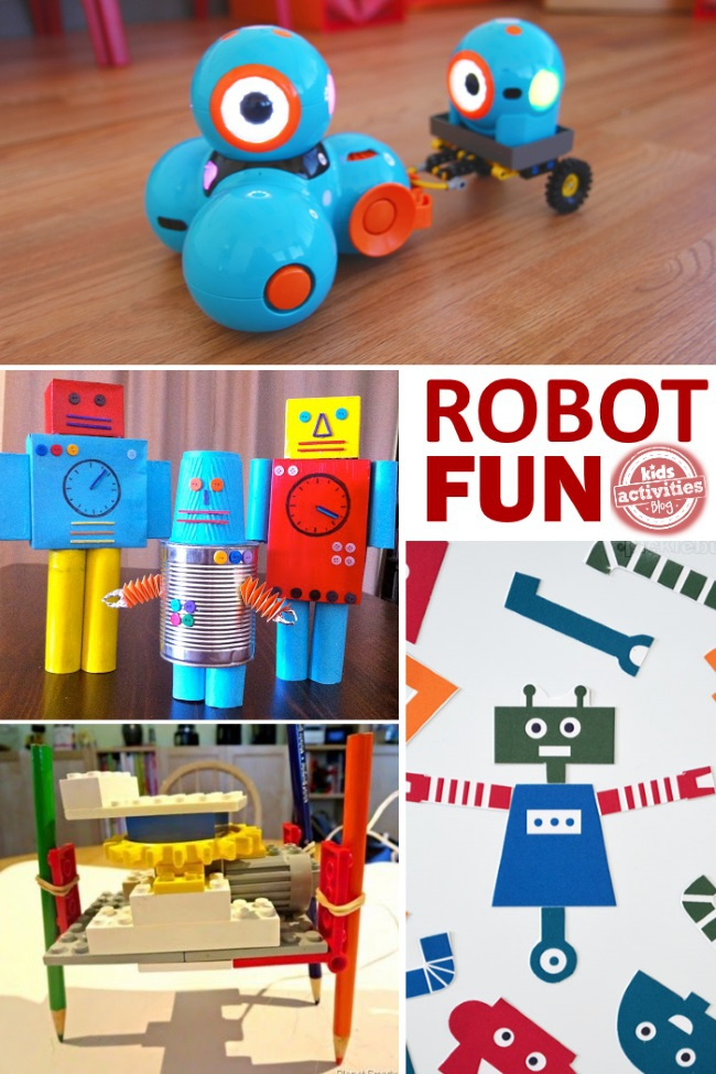 how to create robots at home