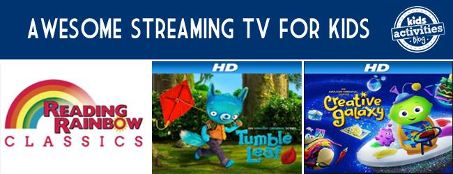 streaming tv for kids