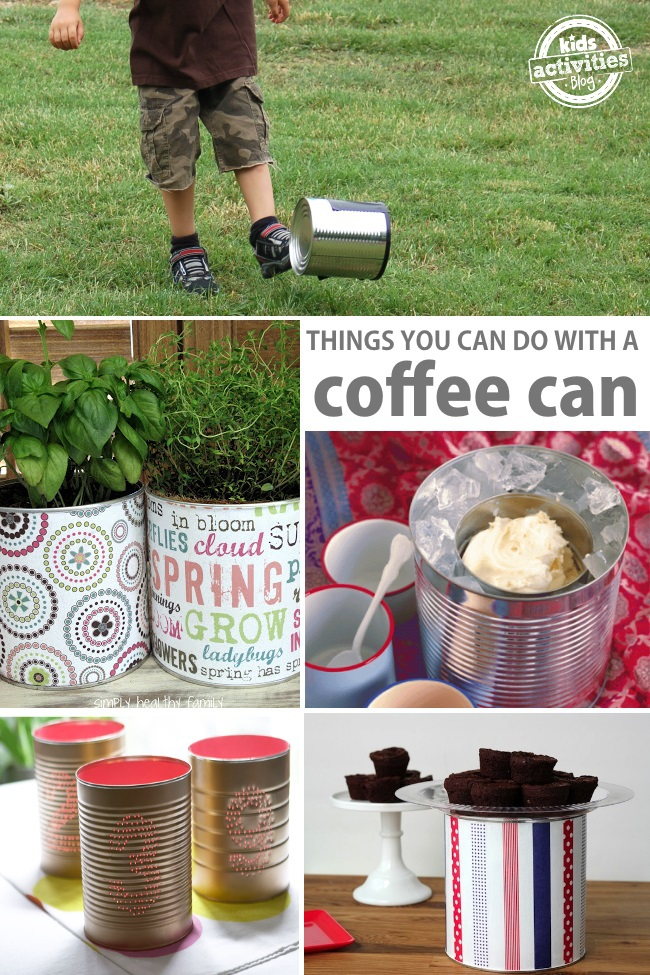 things you can make with a coffee can