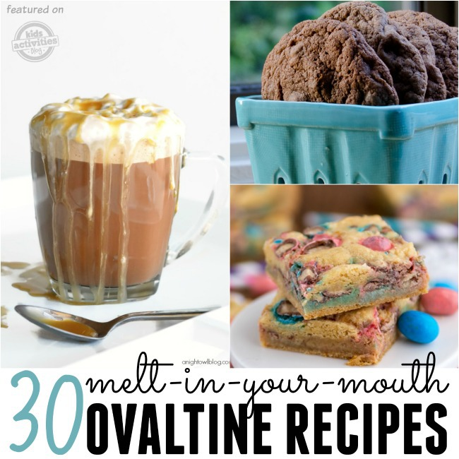 yummy ovaltine recipes