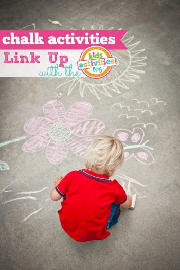 Share your favorite chalk activities for kids!