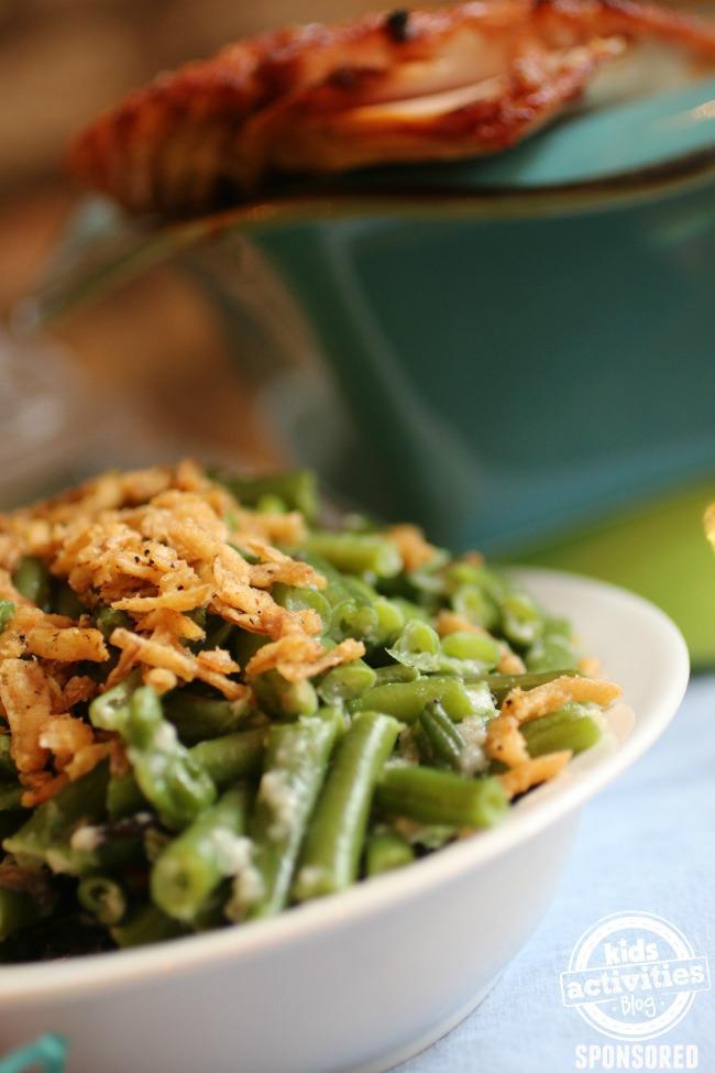 Green bean casserole - Kids Activities Blog