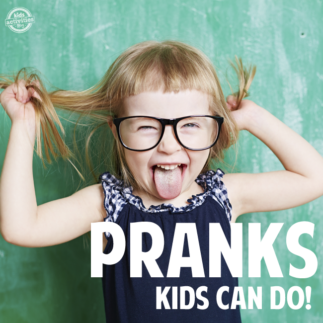 funny kid pranks to do at home