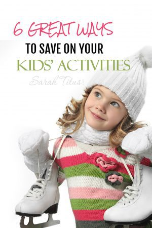 Does your head start to spin when friends talk about their kids' activities? Are you adding up the costs in your head as they go? Keeping your kids entertained can sure be a financial drain, but it doesn't have to be. Check out these 6 great ways to save on your kids' activities!