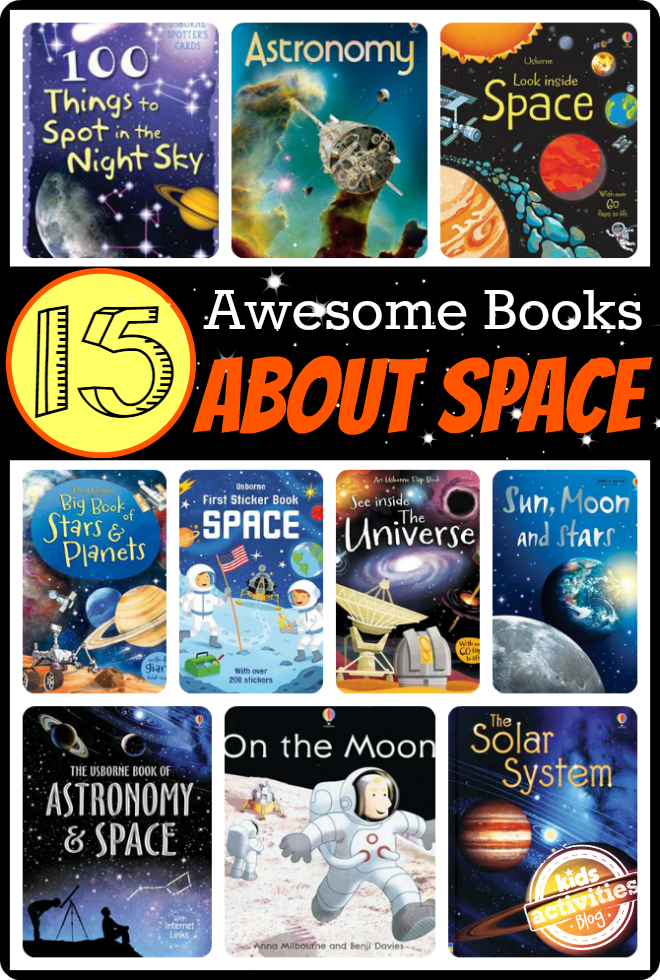 15 Awesome Books For Kids About Space