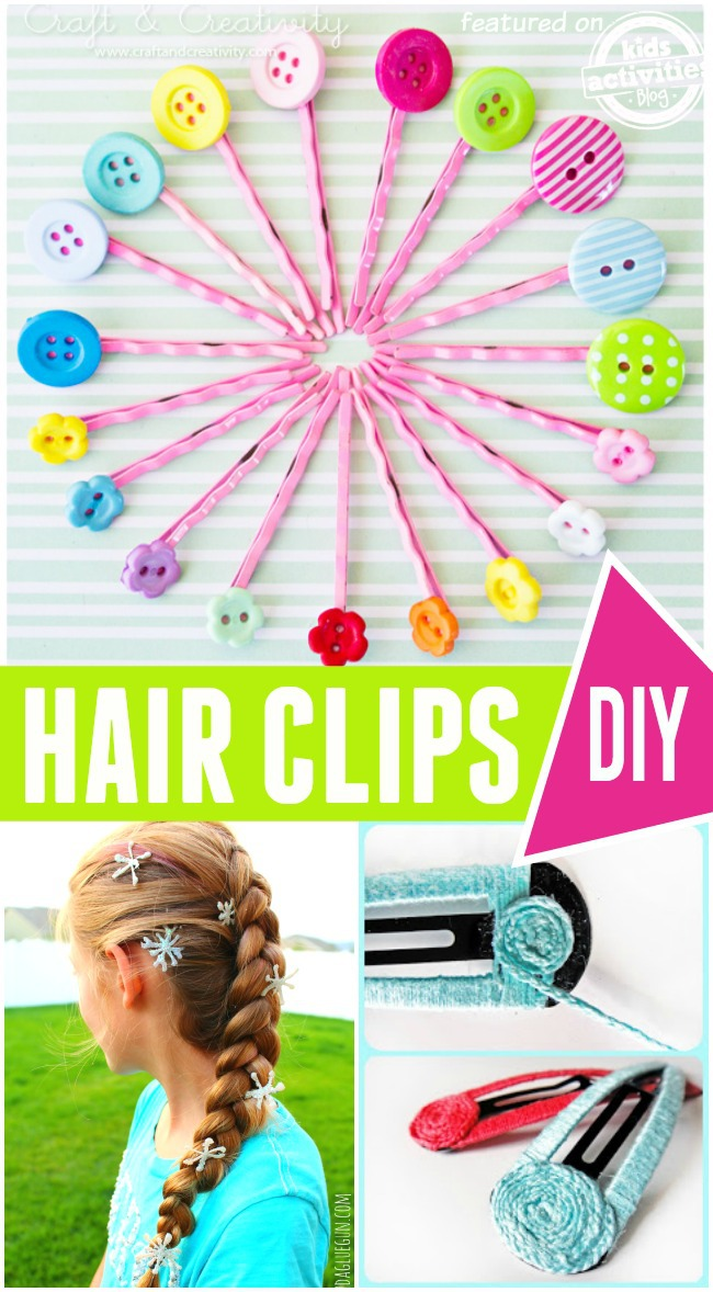 diy hairclips