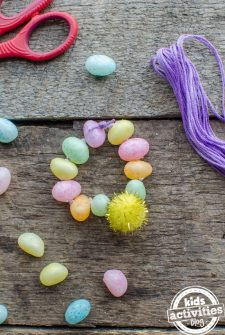 Make a Jelly Bean Bracelet! {SWEET EASTER CRAFT}