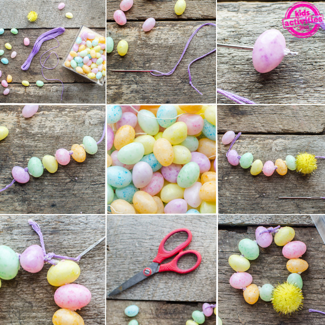 jelly bean bracelet craft