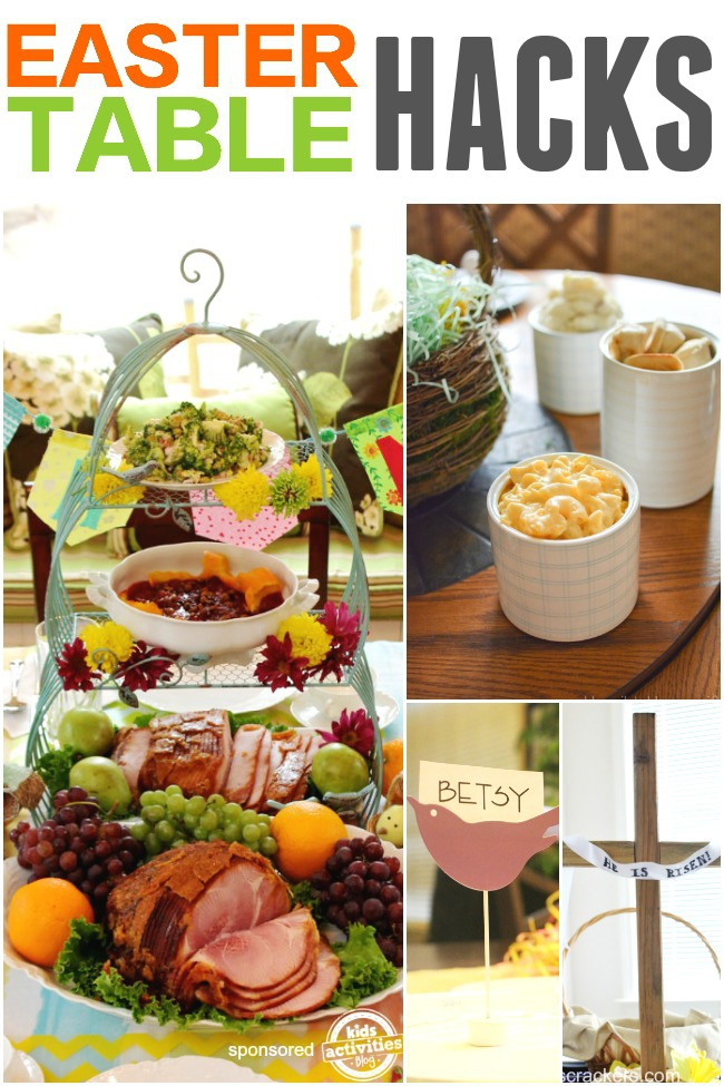 easter table hacks