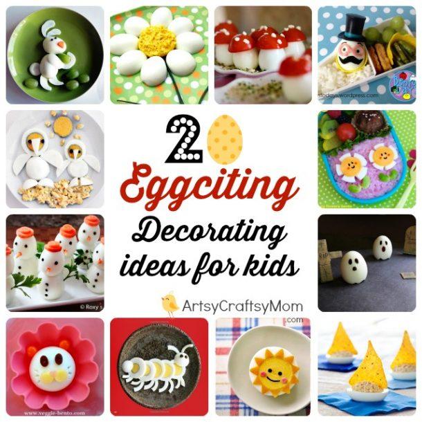 20 Food Decoration Ideas using boiled eggs