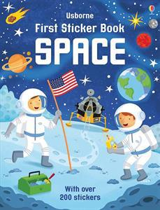 first space sticker book