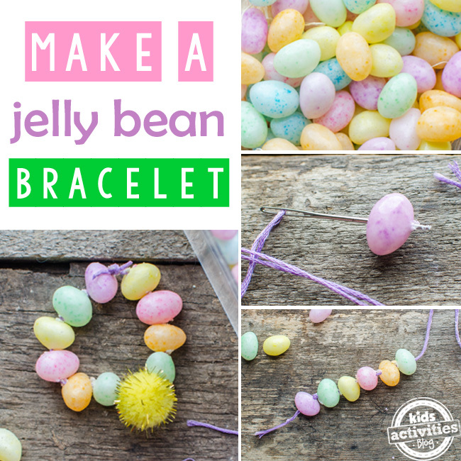 easter jelly bean bracelet